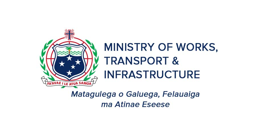Ministry of Works, Transport & Infrastructure Logo
